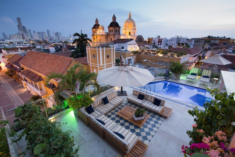 Outdoors sophia hotel  cartagena de indias